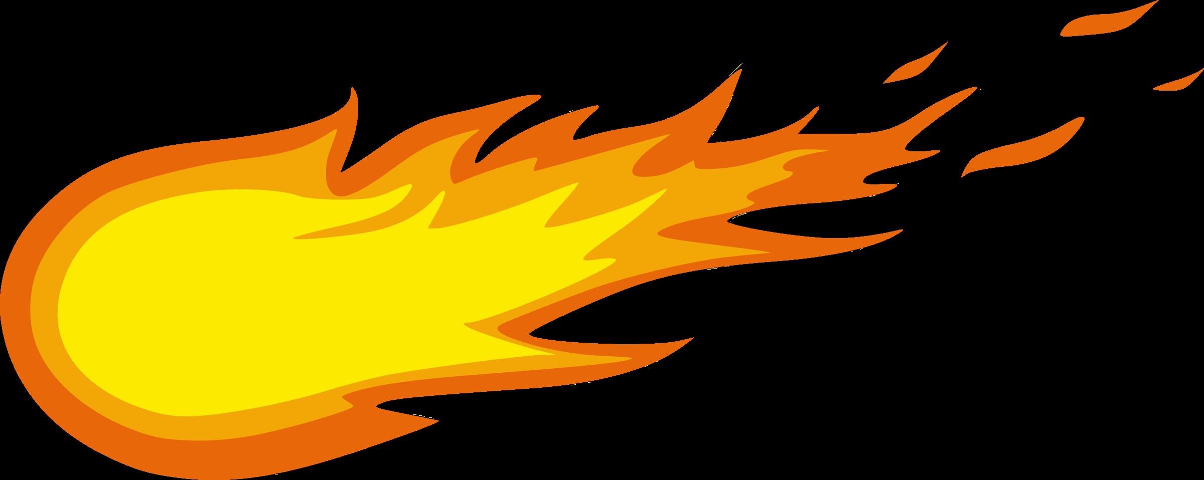 OnlineLabels Clip Art - Fireball |Shooting Flames Drawings
