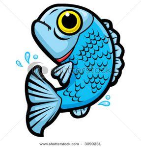 Cartoon Fishing Clipart