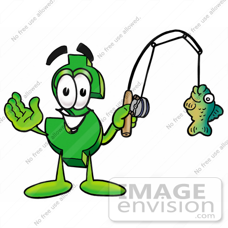 450x450 Clip Art Graphic Of A Green Usd Dollar Sign Cartoon Character