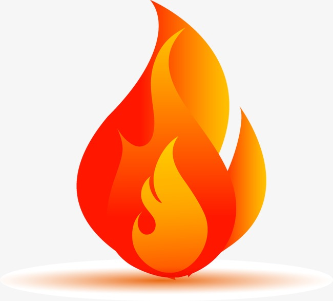 650x586 Cartoon Flame Vector Elements, Fire, Flame, Flames Png And Vector