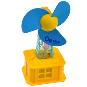 290x290 Beautiful Windmill Style Usb Cartoon Fan With Soft Fan Blade