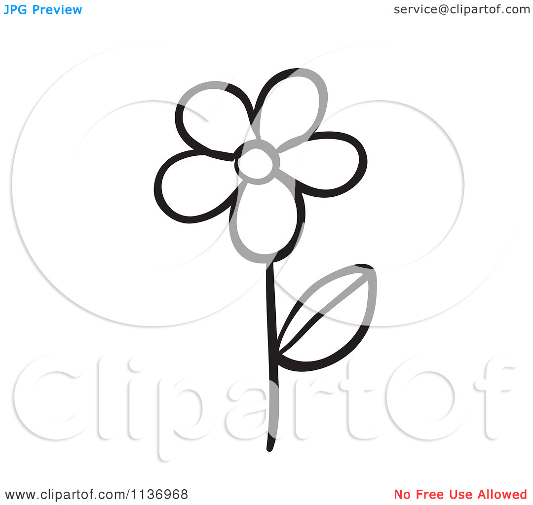 1080x1024 White Flower Clipart Animated