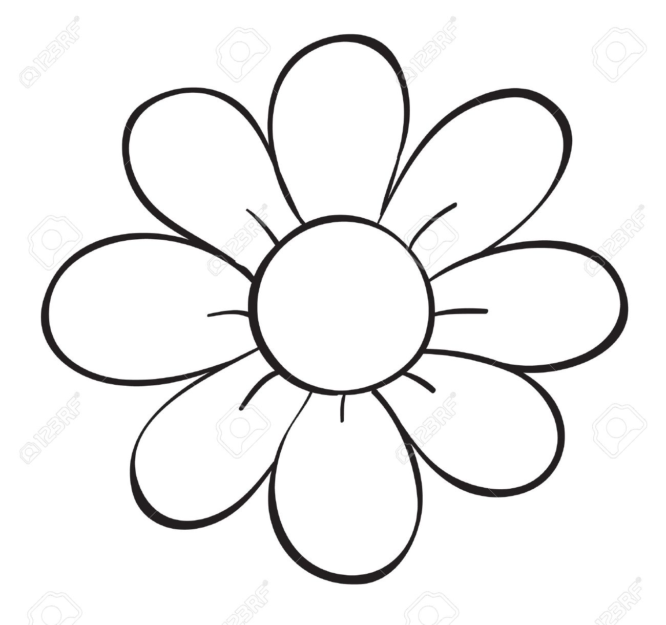 1300x1220 White Flower Clipart Hippie Flower