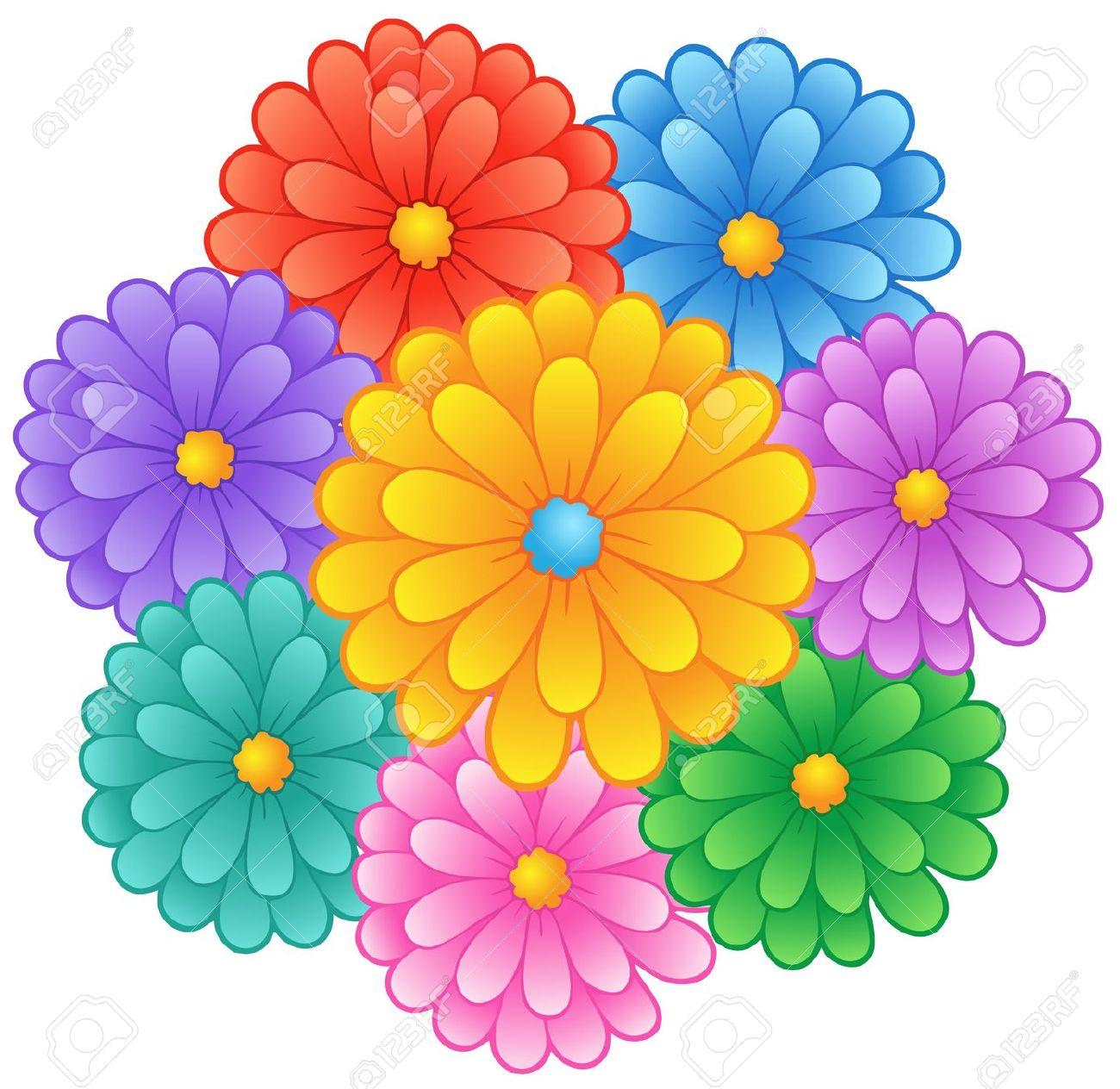 Cartoon Flower Pictures
