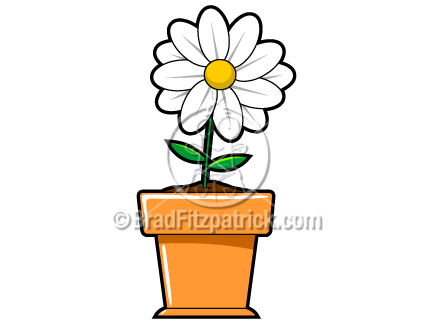 432x324 Cartoon Flower Clip Art Flower Graphics Clipart Flower Icon