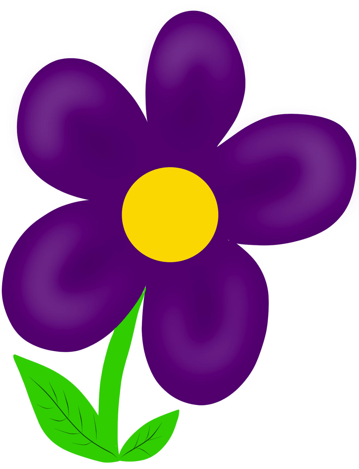 Cartoon Flowers Cliparts