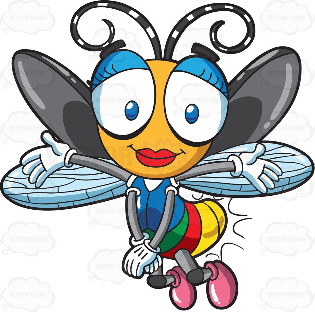 Cartoon Fly Pictures