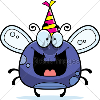 325x325 Cartoon Fly Gl Stock Images