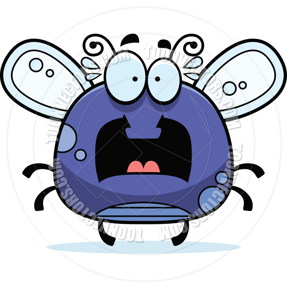 940x940 Cartoon Little Fly Scared By Cory Thoman Toon Vectors Eps