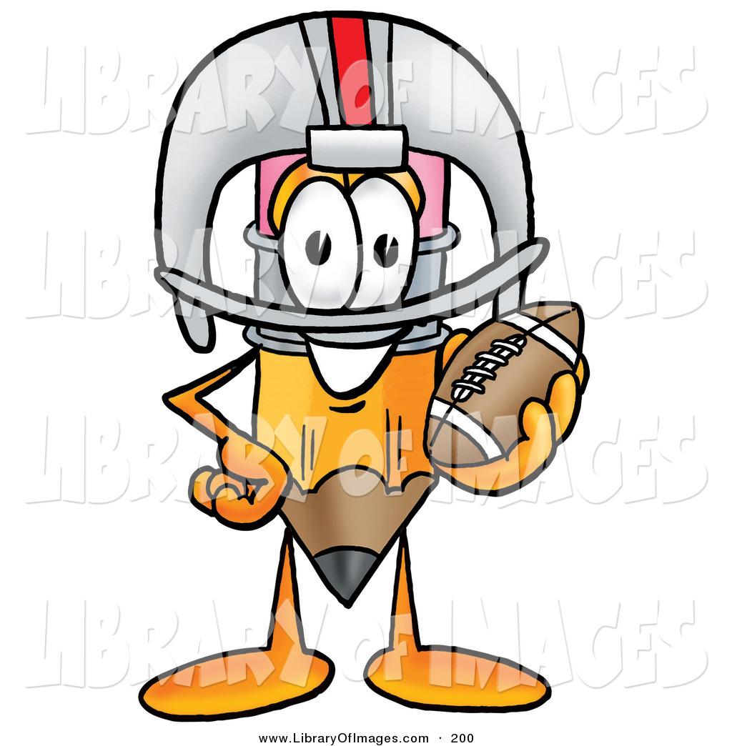 1024x1044 Clip Art Of A Yellow Pencil Mascot Cartoon Character In A Helmet