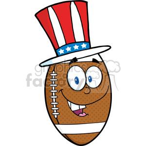 300x300 Royalty Free 6576 Royalty Free Clip Art American Football Ball