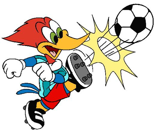 520x436 Cartoon Funny Football Clipart