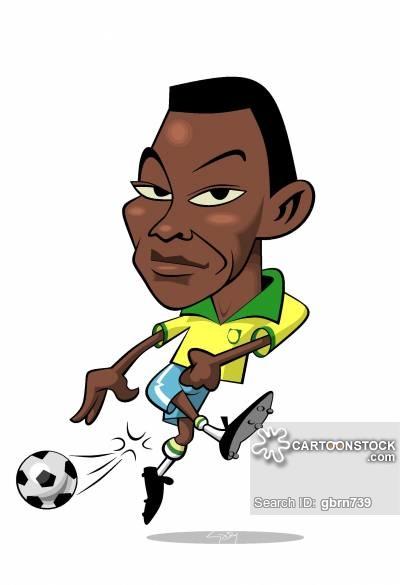 400x585 Famous Footballers Cartoons And Comics