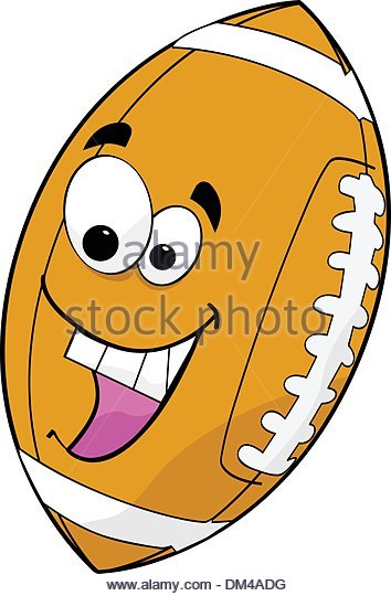 354x540 American Football Cartoon Stock Vector Images