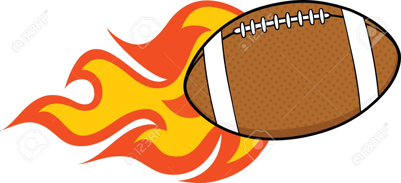 1300x596 American Football On Fire Clipart Amp American Football On Fire Clip
