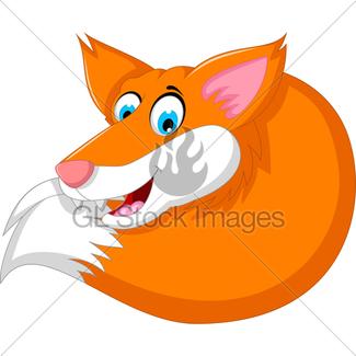 325x325 Cute Cartoon Fox Gl Stock Images