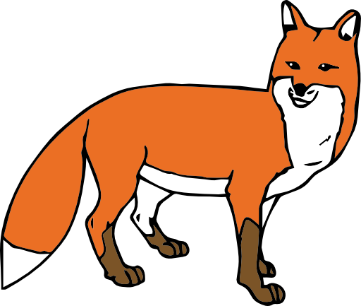 512x433 Png Fox Cartoon Transparent Fox Cartoon.png Images. Pluspng