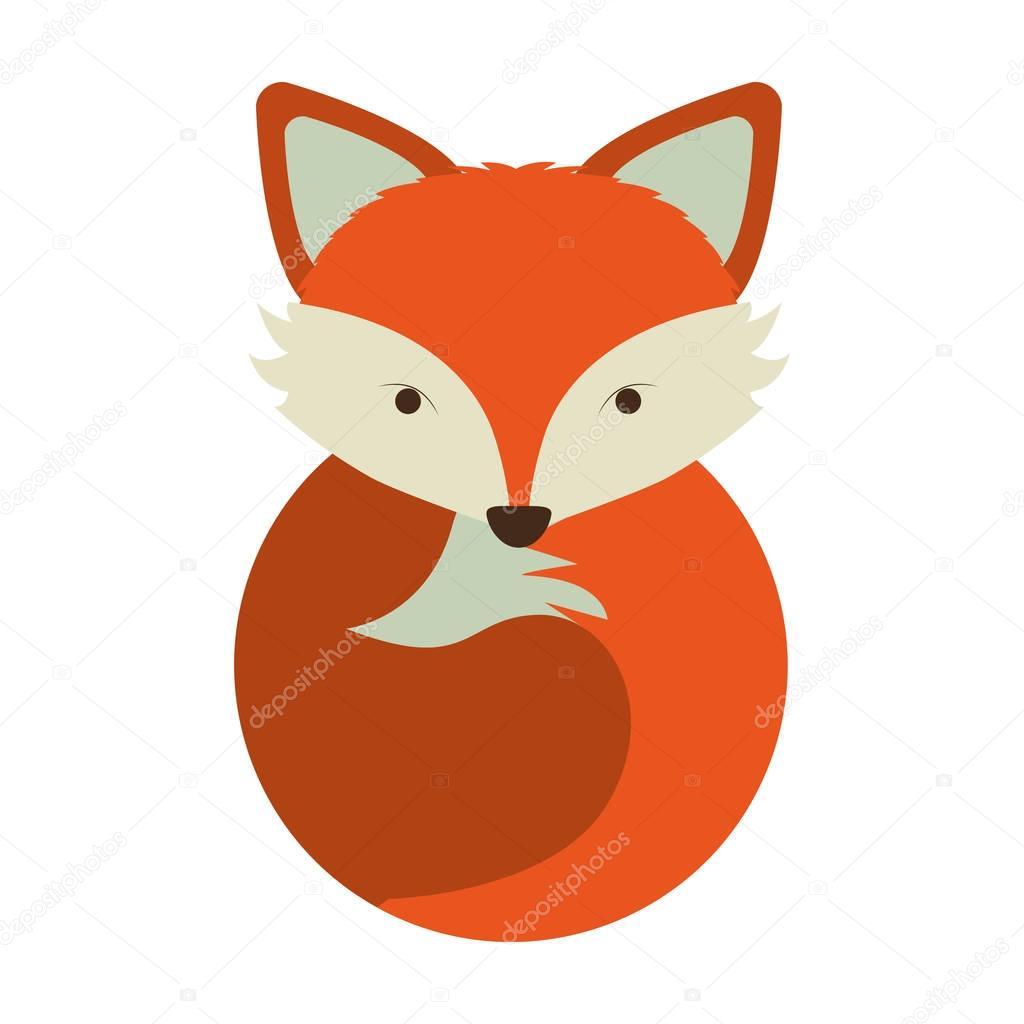 1024x1024 Cartoon Fox Icon Stock Vector Grgroupstock