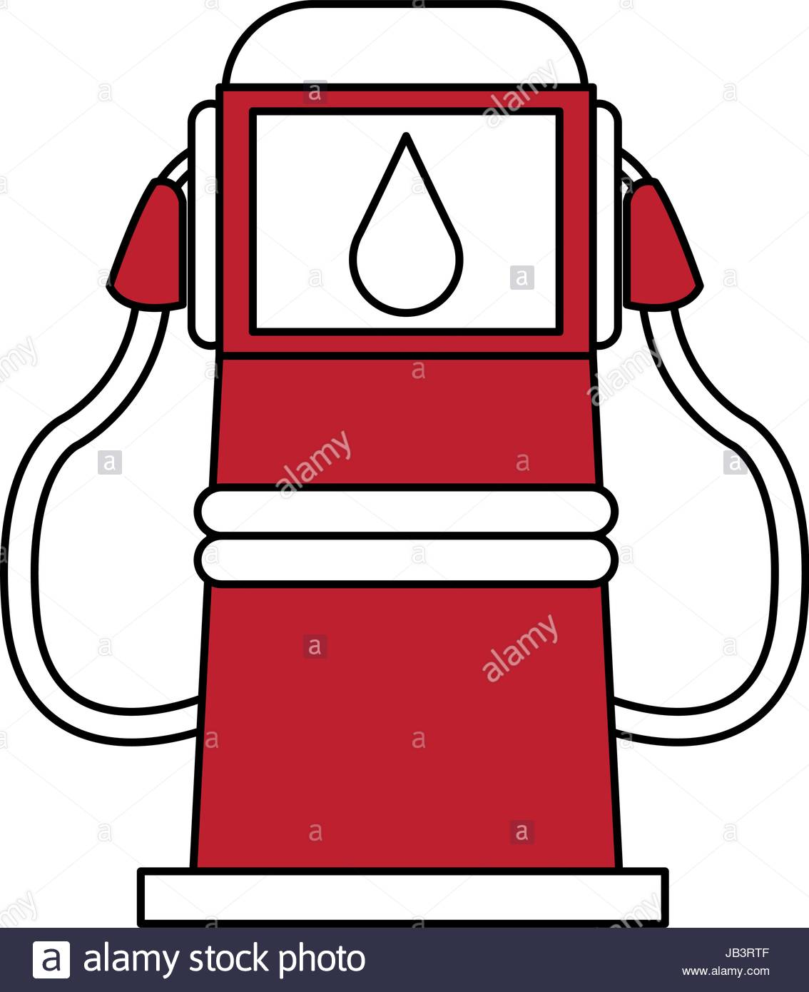1134x1390 Gas Station Cartoon Icon Stock Vector Art Amp Illustration, Vector