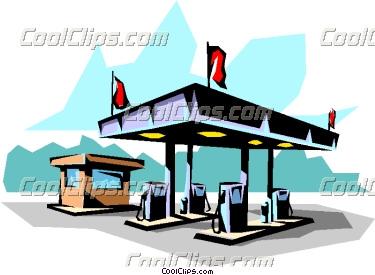 375x275 Clipart Gas Station