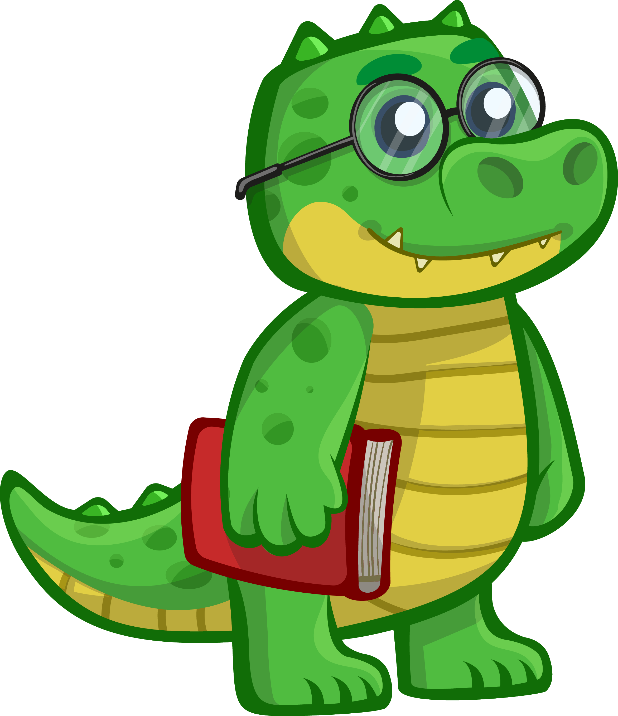 Cartoon Gator Clipart | Free download on ClipArtMag