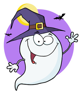263x300 Ghost Clipart Image