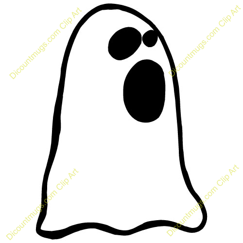 500x500 Ghost clipart mouth
