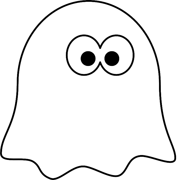 700x699 Little Ghost Coloring Pages