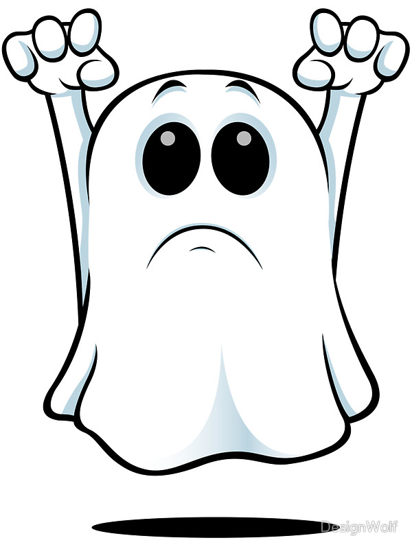 600x800 Cartoon Ghost