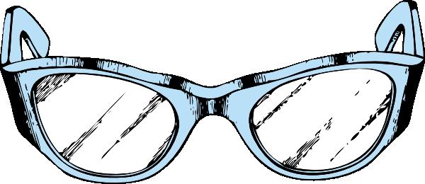 600x260 Eye Glasses Clip Art Free Vector 4vector