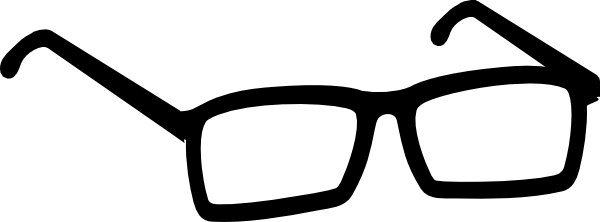 600x222 Glasses Clipart Cartoon