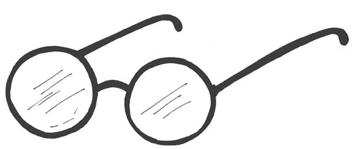 514x217 Round Glasses Clipart Free Images