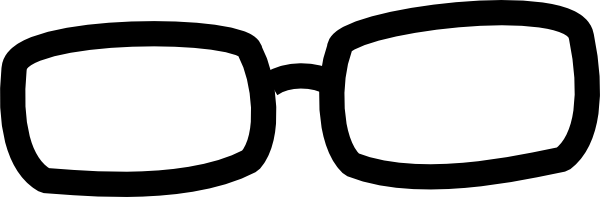 600x197 Spectacles Clipart Glass Frames