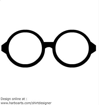 335x355 Black Glasses Clipart