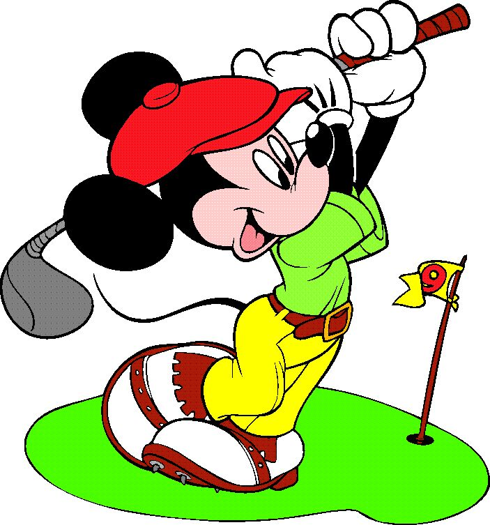 Cartoon Golf Picture