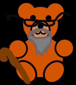 266x297 Grandpa Bear Clip Art