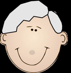 291x298 Grandpa Face Clip Art