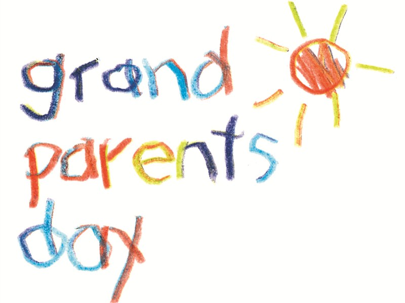 800x600 Free Grandparents Day Clipart