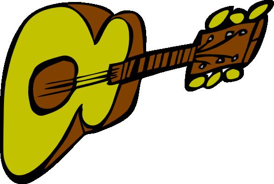 555x372 Guitar Clipart Comic