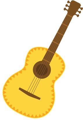 286x415 Guitar Clipart Hispanic