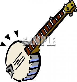 328x350 Cartoon Banjo