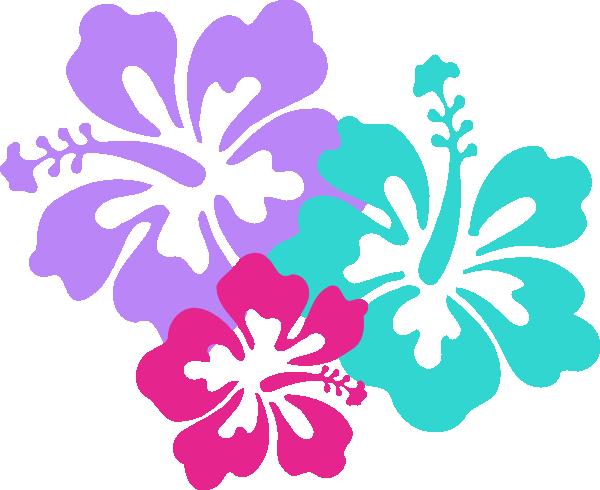 600x490 Hawaiian Flowers Clip Art