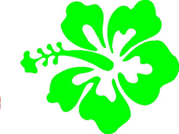 600x449 Hibiscus Flower Clip Art
