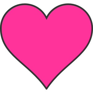 300x300 Pink Heart Clip Art Many Interesting Cliparts