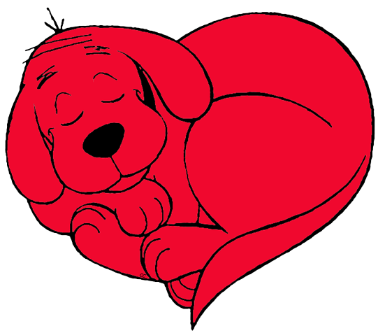 541x476 Clifford The Big Red Dog Clip Art Images