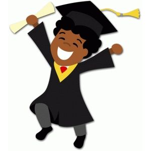 Cartoon High School Diploma Clipart