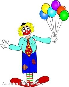 238x300 Clip Art Of A Hobo Clown With Patched Clothes