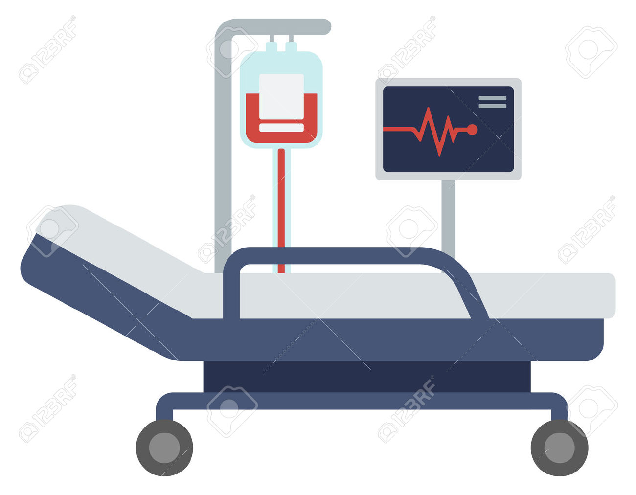 Cartoon Hospital Bed | Free download best Cartoon Hospital ...