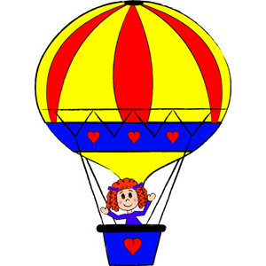 300x300 Clipart Hot Air Balloon