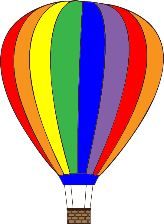 542x740 Free To Use Public Domain Hot Air Balloon Clip Art Hot Air